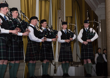 Pipe Band Dinner