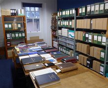 The Treasures Room of the Academy Archives