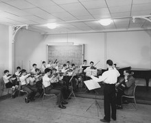 Orchestra Practice in 1961