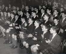 Preparatory School Exhibition (prize-giving), July 1957