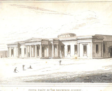 South front of the edinburgh academy william burn 1823