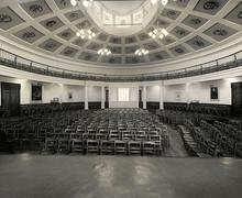 Upper school hall interior 1960s 1