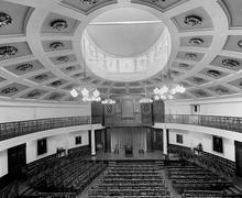 Upper School Main Hall interior, 1960s