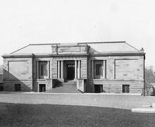 Gymnasium War Memorial, c.1928