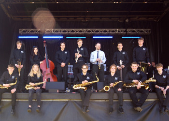 We are the Edinburgh Academy Big Band