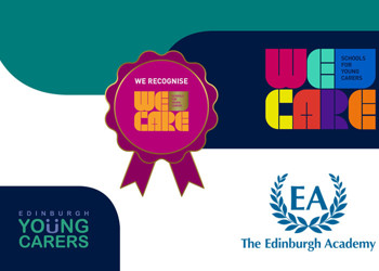 The Edinburgh Academy receives the 'We Care Award'