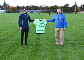 Scottish Rugby Player, Tom Brown, returns to New Field