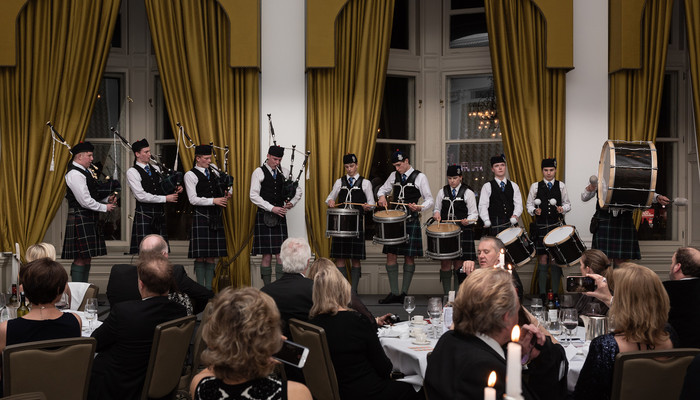 News - Pipe Band Dinner