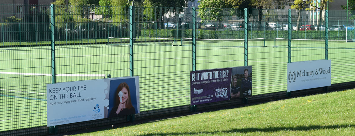 Advertising at our Sports Facilities